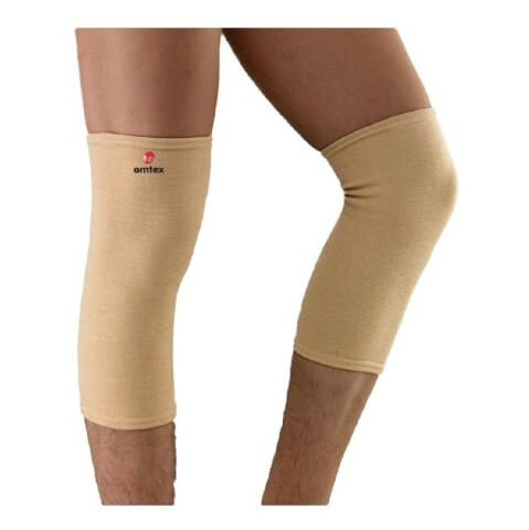 Omtex Super Knee Cap,  Beige  Small