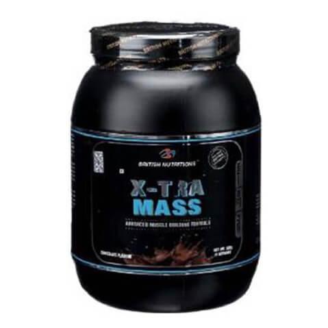 British Nutritions X-Tra Mass,  Chocolate  1.1 lb