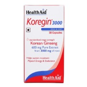 HealthAid Koregin 3000 (Korean Ginseng),  30 capsules