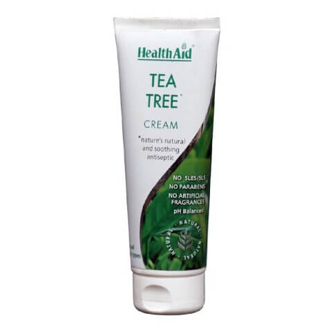 HealthAid Tea Tree High Potency Cream,  75 ml  for All Skin Types