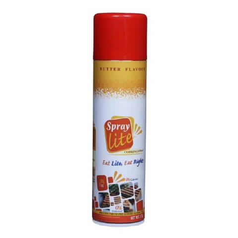 Spray lite Cooking Butter Spray,  0.175 kg
