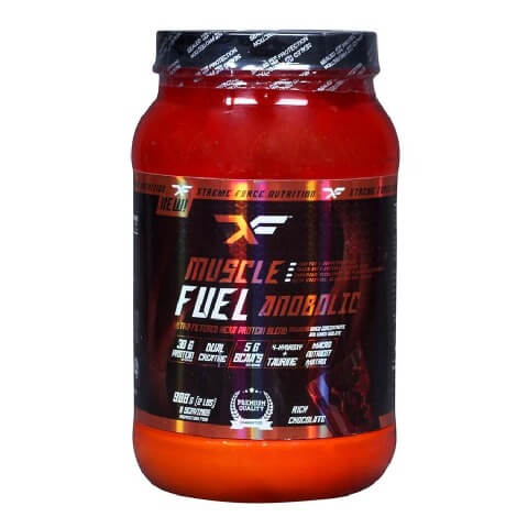 Xtreme Force Muscle Fuel Anabolic XF,  2 lb  Chocolate