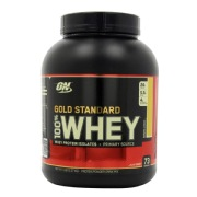 ON (Optimum Nutrition) Gold Standard 100% Whey Protein,  5 lb  Banana & Cream
