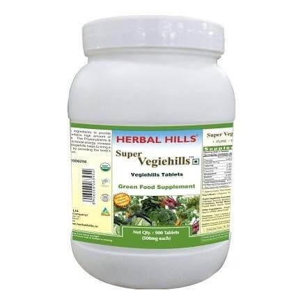 Herbal Hills Super Vegiehills,  900 tablet(s)