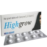 Healthvit Highgrow Hair Growth With CoQ10 & Vitamin E,  10 Tablet(s)