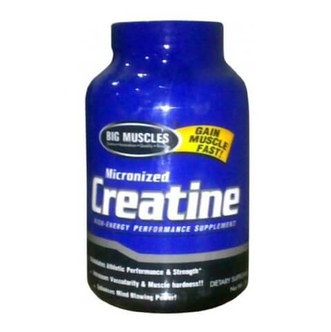 Big Muscle Micronized Creatine,  Unflavoured  300 g