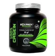 Six Pack Nutrition 100% Casein,  4.4 lb  Vanilla Caramel