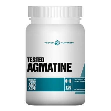 Tested Nutrition Agmatine,  120 capsules  Unflavoured