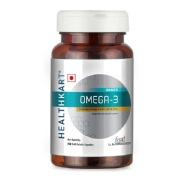 HealthKart Omega 3 1000mg with 180mg EPA and 120mg DHA,  90 softgels