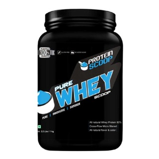 Protein Scoop Pure Whey,  2.2 lb  Unflavoured