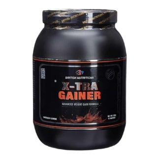 British Nutritions X-Tra Gainer,  1.1 lb  Chocolate
