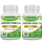 Morpheme Remedies Garcinia Cambogia + Garcinia Green Tea,  120 capsules  Unflavoured