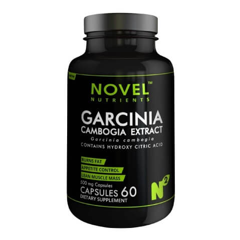 Novel Nutrients Garcinia Cambogia Extract (500mg),  60 capsules