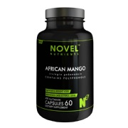 Novel Nutrients African Mango (400mg),  60 capsules  Unflavoured