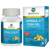 BestSource Nutrition Omega-3 Fish Oil (600mg),  60 Softgels
