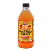 Bragg Apple Cider Vinegar,  0.473 L  Unflavoured