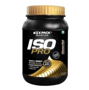 Six Pack Nutrition Iso Pro Whey Protein Isolate,  2.2 lb  Choco Nut