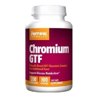 Jarrow Formulas Chromium GTF (200mcg),  100 capsules