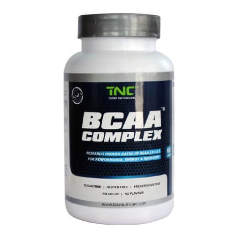 Tara Nutricare BCAA,  60 tablet(s)  Unflavoured