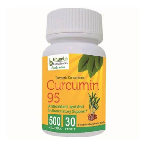 Bhumija Turmeric Curcumin 95,  30 capsules
