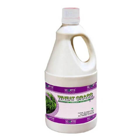 Scortis Wheat Grass Juice,  Natural  1 L