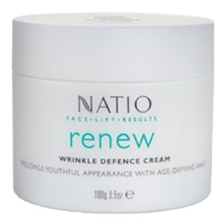 Natio Renew Wrinkle Defence Cream,  100 g  Moisturise