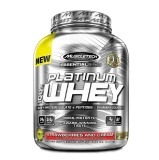 MuscleTech Essential Platinum 100% Whey,  5 Lb  Strawberries And Cream