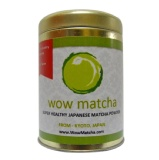 Wow Matcha Premium Grade Matcha Powder,  60 G  Natural