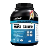 Gen-X Premium Mass Gainer,  Strawberry  4.4 Lb