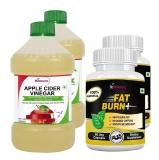 St.Botanica Apple Cider Vinegar + Fat Burn+,  4 Piece(s)/Pack  Unflavoured