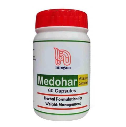 Nirogam Medohar Active Capsules,  60 capsules