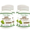 Nutra Vigour Green Coffee Bean Extract (800mg) (Pack of 4),  90 capsules