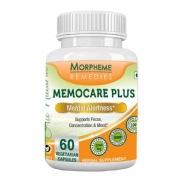 Morpheme Remedies Memocare Plus ( 500 mg),  60 veggie capsule(s)