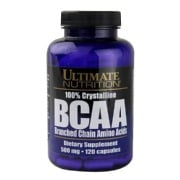 Ultimate Nutrition 100% Crystalline BCAA (500 mg),  120 capsules  Unflavoured