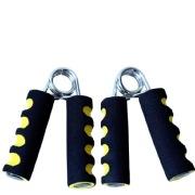 B Fit USA Foam Hand Grip (3102),  Yellow & Black  Free Size