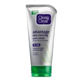 Clean & Clear Advantage Daily Soothing Acne Scrub,  141 G  Oil-Free