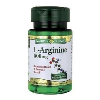 Nature's Bounty L-Arginine (500 mg),  50 capsules