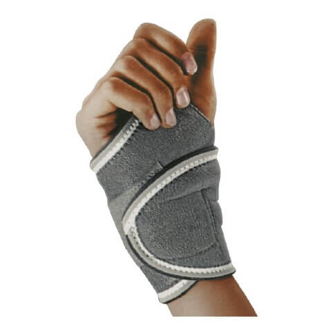 B Fit USA Magnetic Wrist Support (AB0054),  Black  Free Size