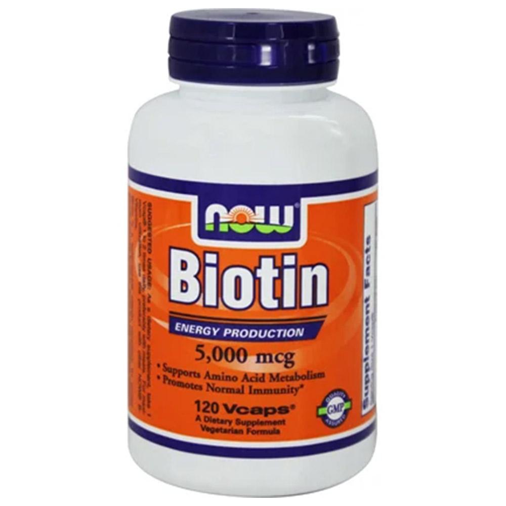 Now Biotin (5000 mcg)