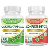 Morpheme Remedies Garcinia Cambogia + Complete Detox,  120 Veggie Capsule(s)  Unflavoured