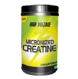 High Voltage Micronized Creatine,  Unflavoured  0.66 Lb