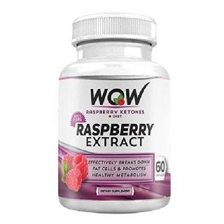 WOW Raspberry Ketones Plus Diet,  60 capsules
