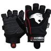 KOBO Gym Gloves (WTG-07),  Black  Large