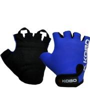 KOBO Weight Lifting Gloves (WTG-05),  Blue  XL