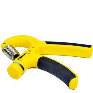 KOBO Adjustable Hand Grip (HG-1),  Yellow & Black