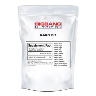 BigBang Nutrition AAKG 2:1,  0.22 lb  Unflavoured