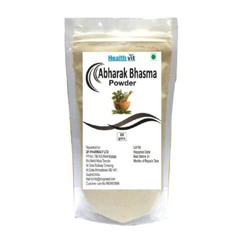 Healthvit Abharak Bhasma Powder,  10 g