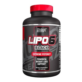 Nutrex Lipo 6 Black,  120 capsules  Unflavoured