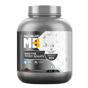MuscleBlaze Biozyme Whey Isolate,  4.4 lb  Rich Milk Chocolate