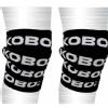 KOBO Knee Wraps Bandages (WTA-10),  Black  Free Size